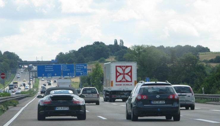 в Германию на автомобиле