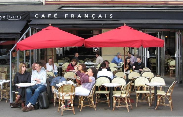 французские кафе
